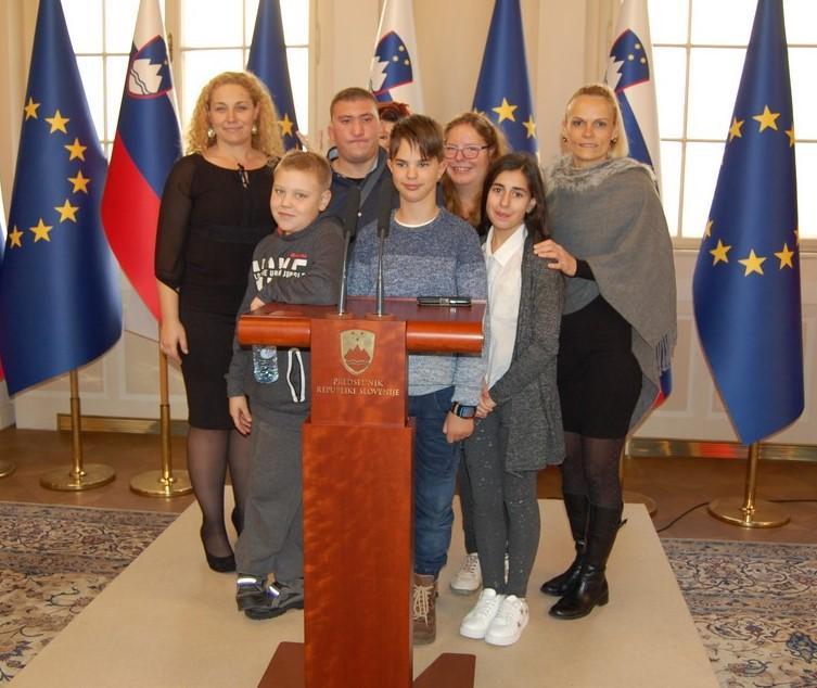 Obisk pri predsedniku države